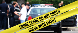 Catching criminals withmaths