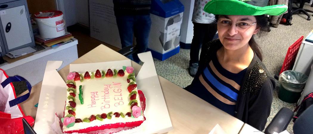 Belgin's marvellous birthday cake