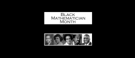 October is Black Mathematician Month