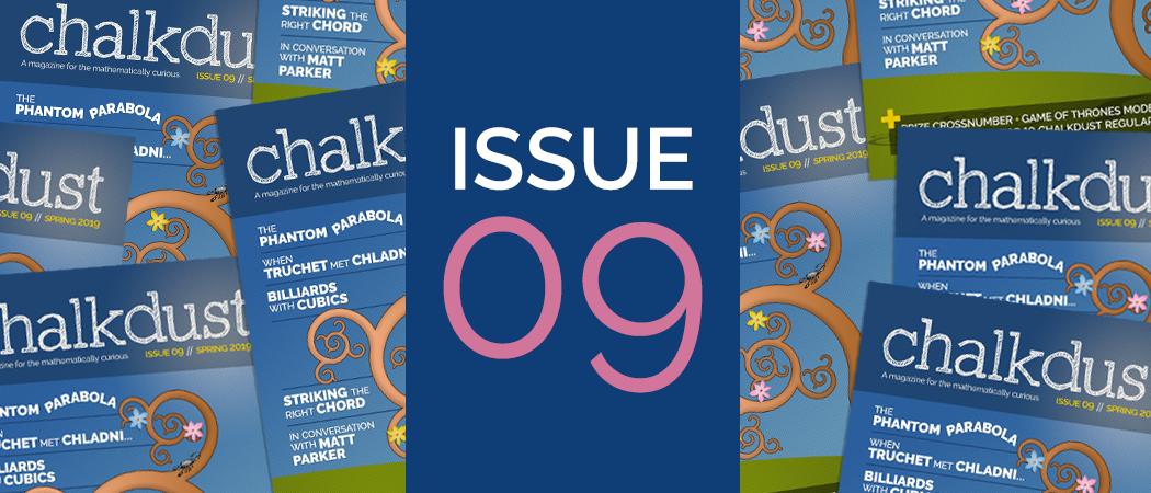 Issue 9 banner
