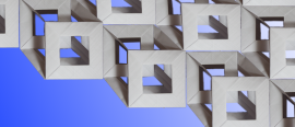 Origami tesseract