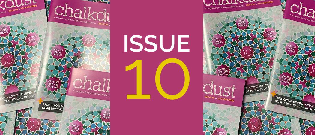 Chalkdust Issue 10 banner