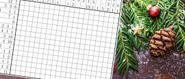 Christmas puzzle #2: A Christmas nonogram