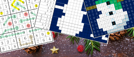 Christmas puzzles: the solutions